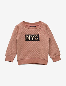 Sweat - sweatshirts - dusty rose
