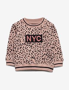 Sweat - sweatshirts - light rose