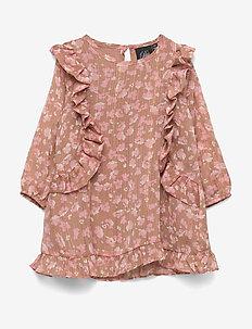 Dress - kjoler - light camel