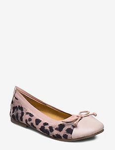 Ballerina - ballerinaer og slip-ons - leopard