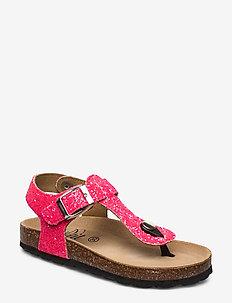 Sandal glitter - sandals - pink