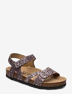 Sandal glitter - sandals - rose
