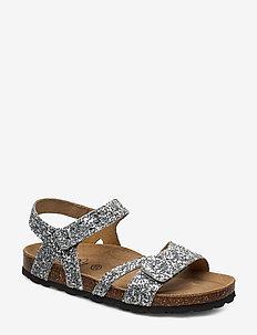 Sandal glitter - sandals - silver