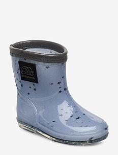 Rubber boot - bottes en chaouthouc - l blue