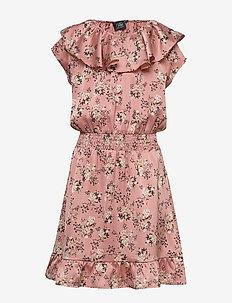 Dress - robes - aop flow blk