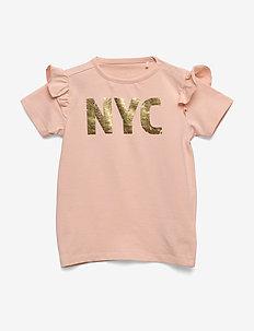 T-shirt - kortærmede - cameo rose