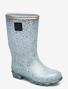 Rubber boot - bottes en chaouthouc - silver mix