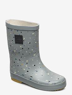 Rubber boot - bottes en chaouthouc - dusty mint