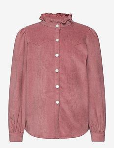 Shirt - skjorter - dark rose