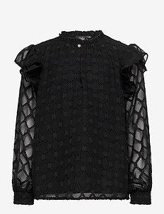 Blouse - blouses & tunieken - black