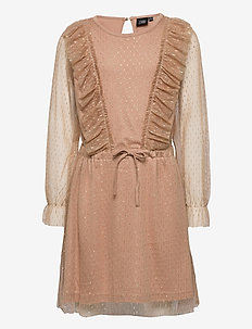 Dress - robes - camel