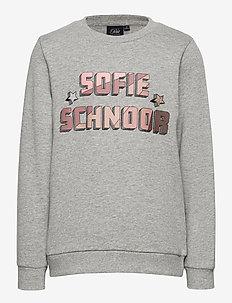 Sweatshirt - sweatshirts - grey melange