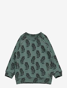 Sweat - sweatshirts - dusty green