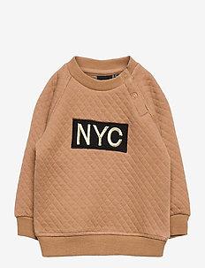 Sweat NYC - sweatshirts - rosy camel