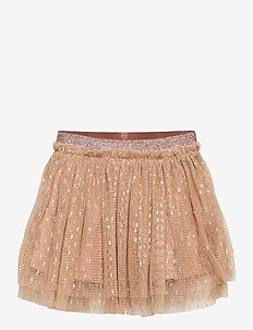 Skirt - spódnice - camel