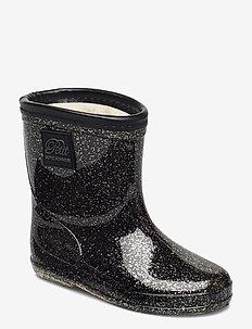 Rubber boot - rubberlaarzen - black gold