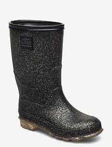 Rubber boot - kalosze - black gold