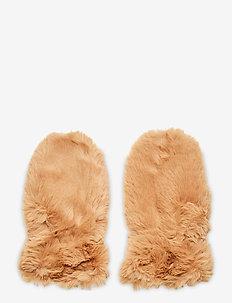 Mittens - vintertøj - camel