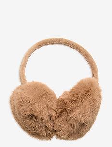 Ear Warmer - kapelusze - camel