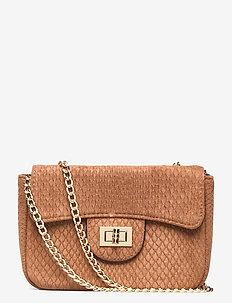Cross bag - kleine tassen - camel