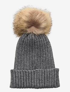 Beanie - kapelusze - grey mel