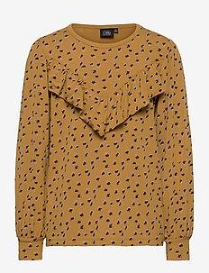 Top - bluzki i tuniki - yellow