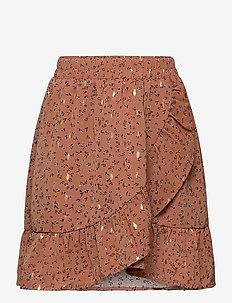 Skirt - rokjes - rosy brown