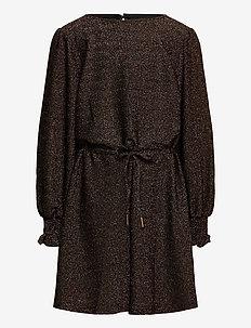 Dress - jurken - brown