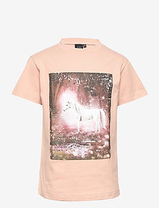 T-shirt - kortermede - sweet rose