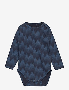 Body - long-sleeved - middle blue