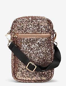 Crossbag - kleine tassen - mix glitter