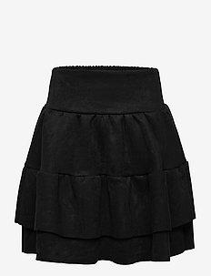 Skirt - röcke - black