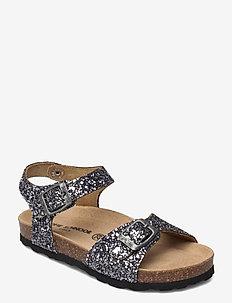 Sandal glitter - sandalen - antique silver