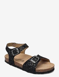 Sandal glitter - sandalen - black