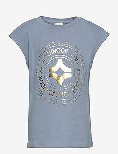 T-shirt - kurzärmelige - blue
