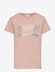 T-shirt - kurzärmelige - light rose