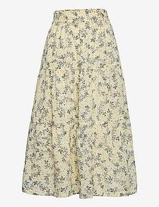 Skirt - röcke - white