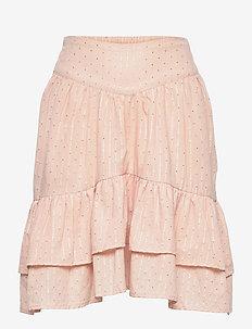 Skirt - spódnice - light rose