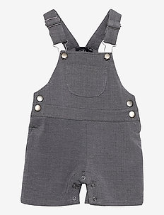 Dungarees - overalls - washed black