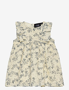 Dress - kleider - white flower