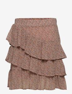 Skirt - röcke - rose