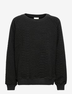 Sweatshirt - sweatshirts - black