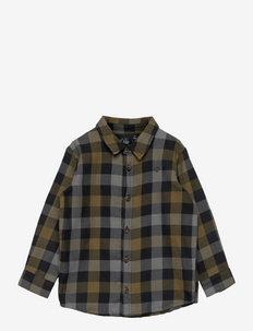 Shirt - skjorter - brown check