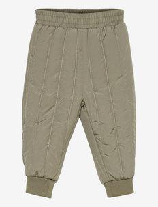 Pants - underdele - dusty green