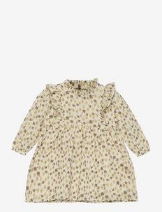 Dress - kleider - antique white