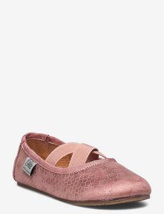 Shoe indoor - ballerinas & slip ons - dusty rose