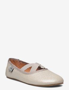Shoe indoor - ballerinas & slip ons - silver