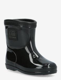 Rubber boot - rubberlaarzen - black