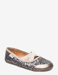 Indoors shoe - glitter - GREY