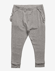 Pants - bukser - grey melange